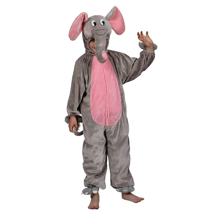 Barndräkt, elefant 122/128 cl