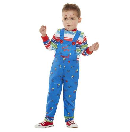 Barndräkt, Chucky blå 3-4 år