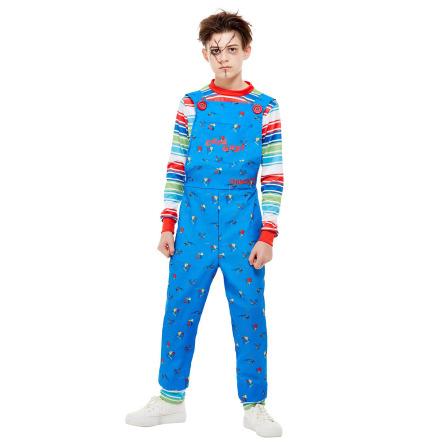 Barndräkt, Chucky blå 134/140 cl