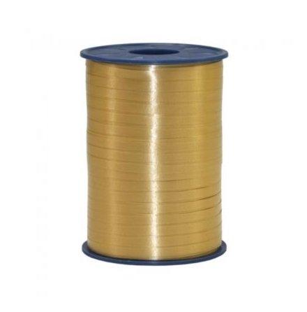 Ballongsnöre, guld 500 m x 5mm
