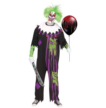 Dräkt, crazy clown one size