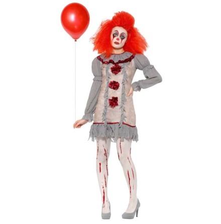 Dräkt, Vintage clownklänning M