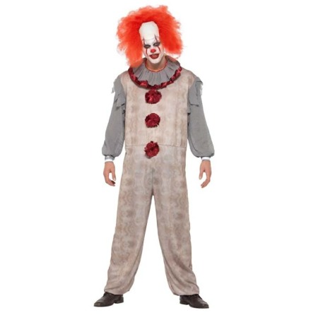 Dräkt, vintage clown XL