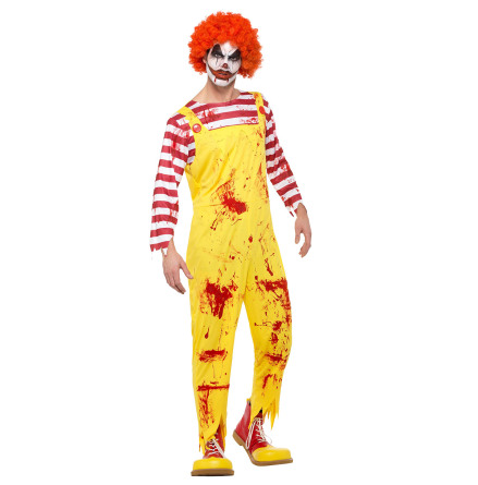 Dräkt, Kreepy Killer Clown XL
