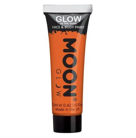 Glow in the dark i tub, orange 12 ml