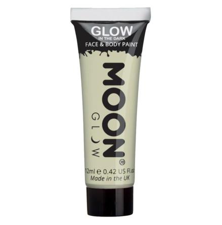 Glow in the dark i tub, vit 12 ml