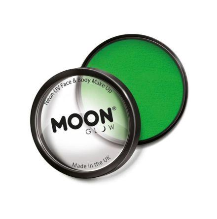 UV-smink i burk, grön blister