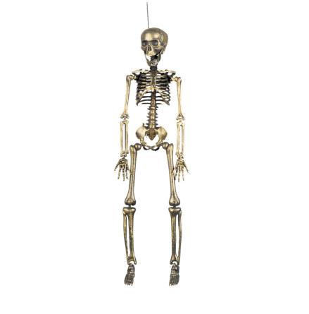 Prop, skelett guld 40 cm