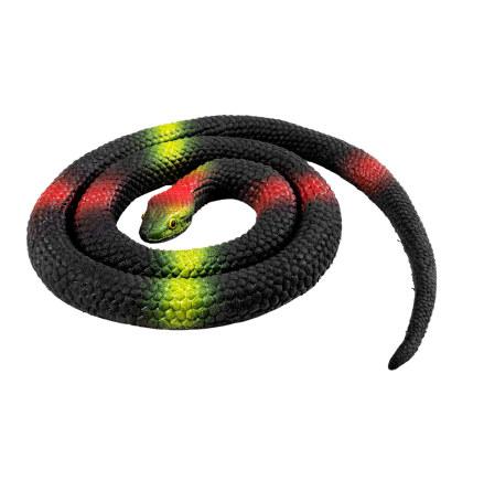 Orm, svart 75 cm