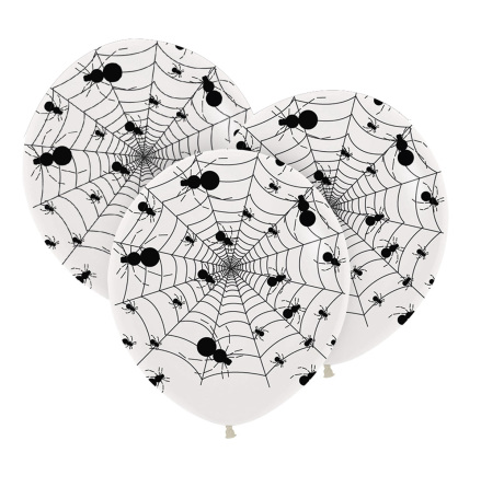Ballonger, spindelnät 75 cm 3 st
