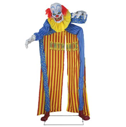 Prop animerad, entré clown 305 cm
