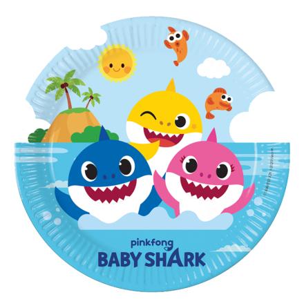 Tallrikar, Baby Shark 8 st