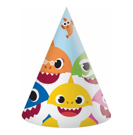 Partyhattar, Baby Shark 6 st