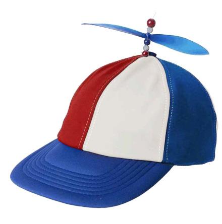 Propellerkeps, blå/vit/röd