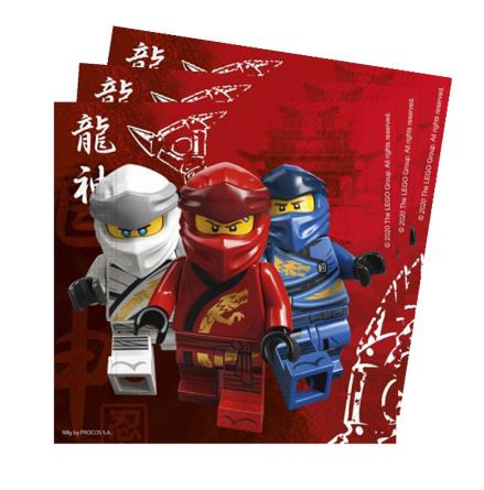 Servetter, Lego Ninjago 20 st