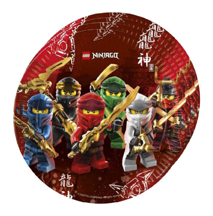 Tallrikar, Lego Ninjago 8 st