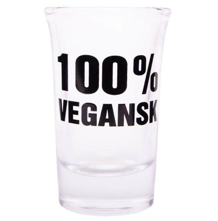 Snapsglas, 100% vegansk