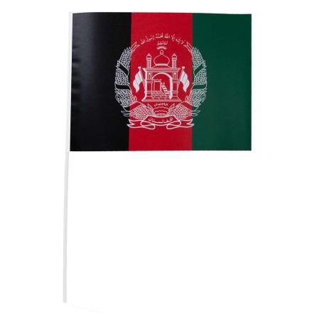Pappersflagga, Afghanistan 27x20 cm
