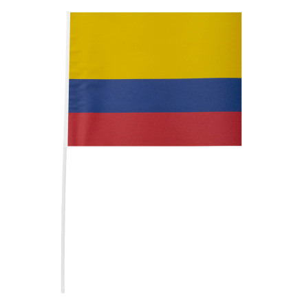 Pappersflagga, Colombia 27x20 cm