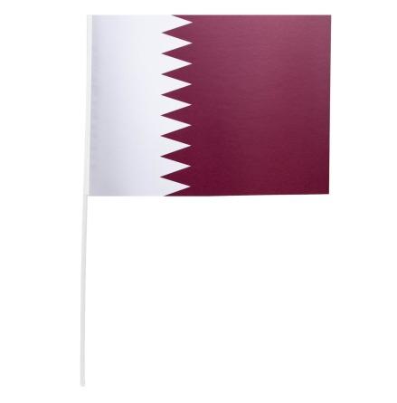 Pappersflagga, Qatar 27x20 cm