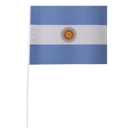 Pappersflagga, Argentina 27x20 cm