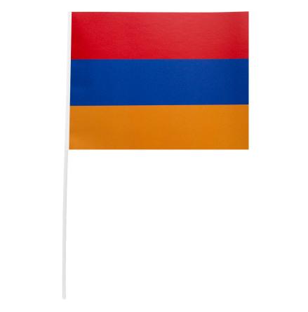 Pappersflagga, Armenien 27x20 cm