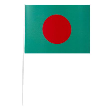 Pappersflagga, Bangladesh 27x20 cm