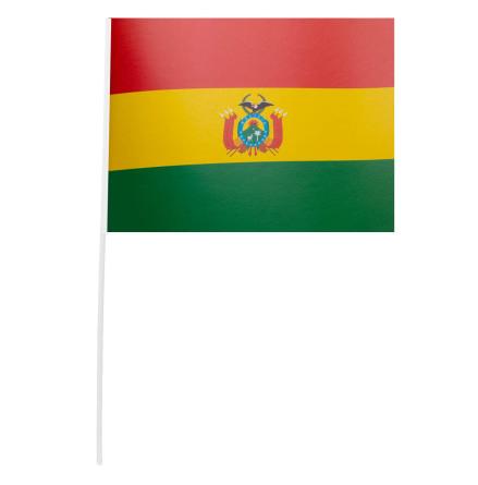 Pappersflagga, Bolivia 27x20 cm