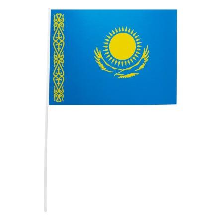 Pappersflagga, Kazakstan 27x20 cm