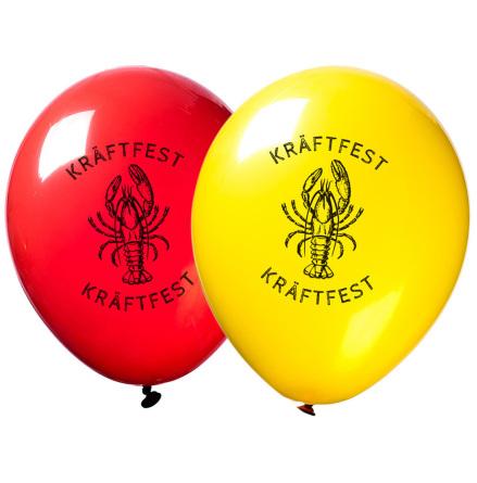 Ballonger, kräftfest 10 st