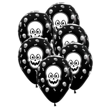 Ballonger, skelett 30 cm 6 st
