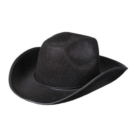 Cowboyhatt, rodeo svart