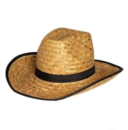 Cowboyhatt, strå