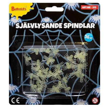 Spindlar, självlysande 36 st